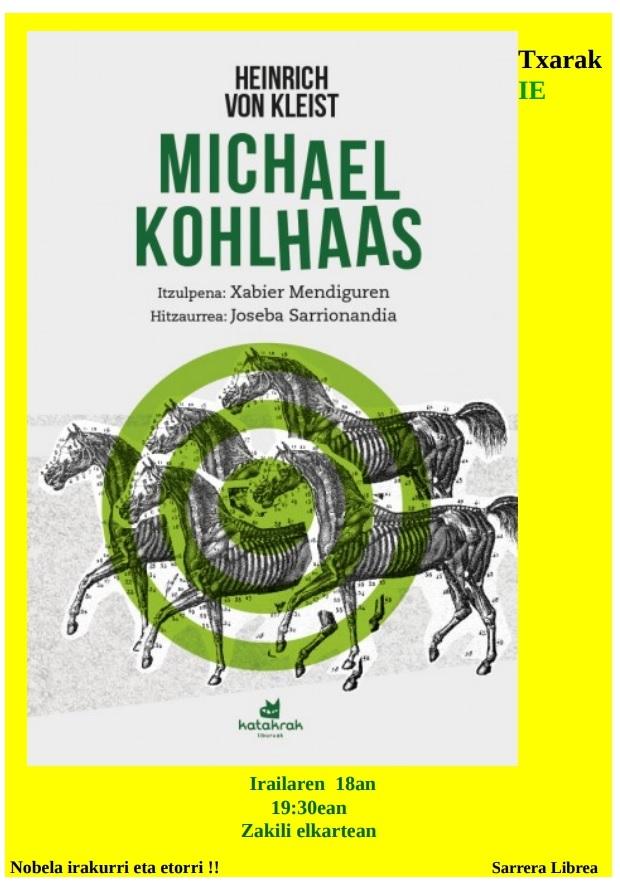 Michael Kohlhaas, Heinrich Von Kleist