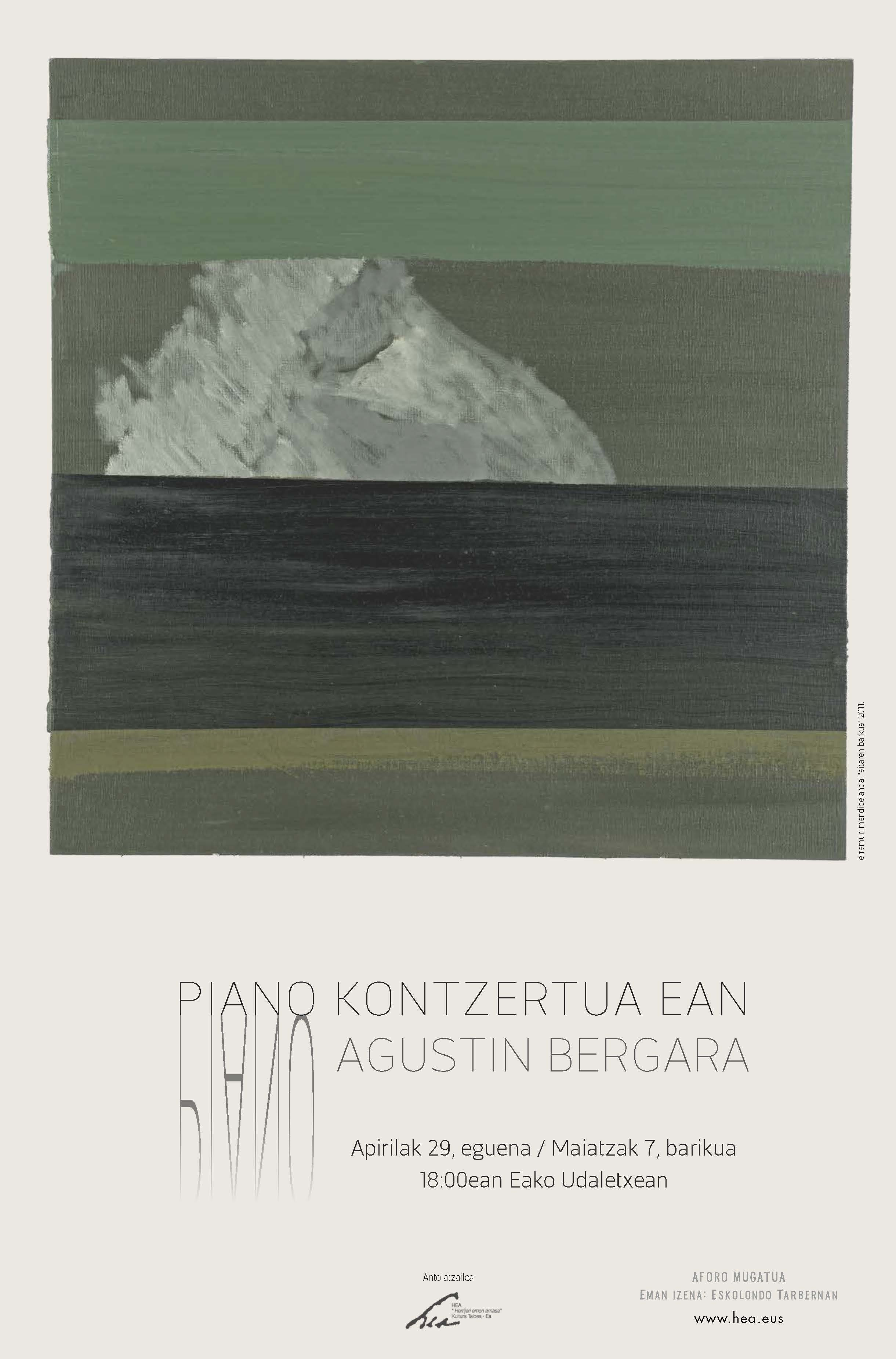 Piano Kontzertua. Agustin Bergara